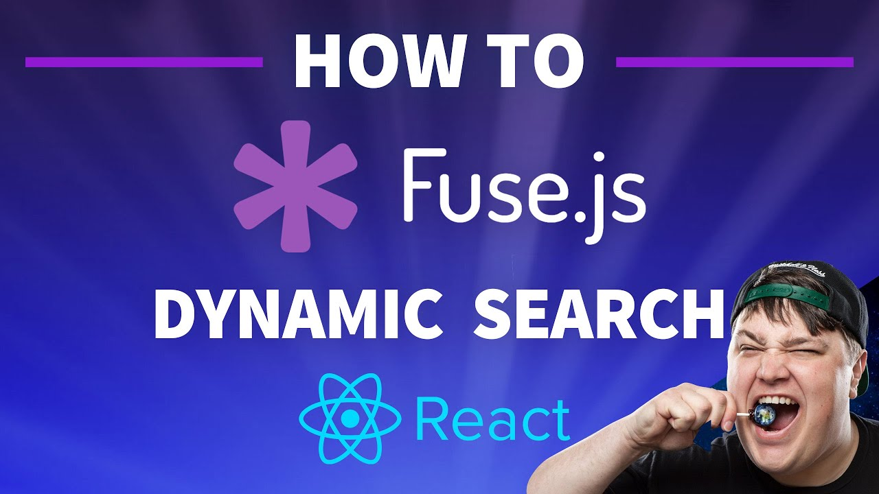 How to Add Search to a React App with Fuse.js