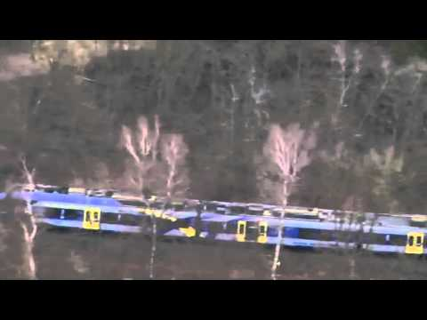 Top News: Germany train crash Aerials show crash site devastation P1