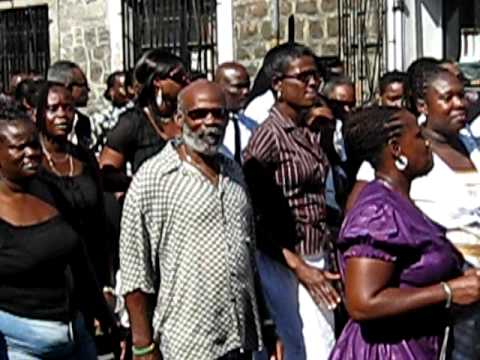 ONLY IN GOUYAVE: Osra Funeral,