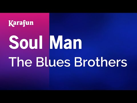 Karaoke Soul Man  The Blues Brothers *