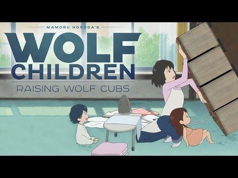 Wolf Children Official Clip - Raising Wolves (English)