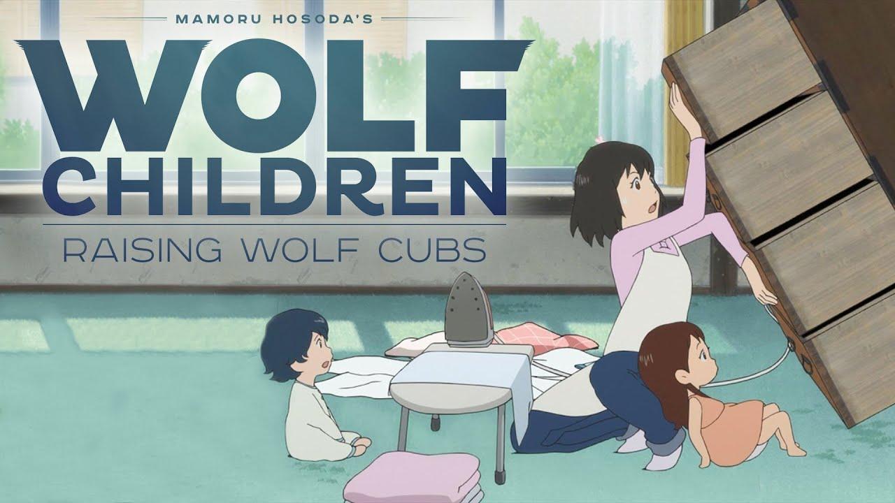 Wolf Children Official Clip - Raising Wolves English -7752