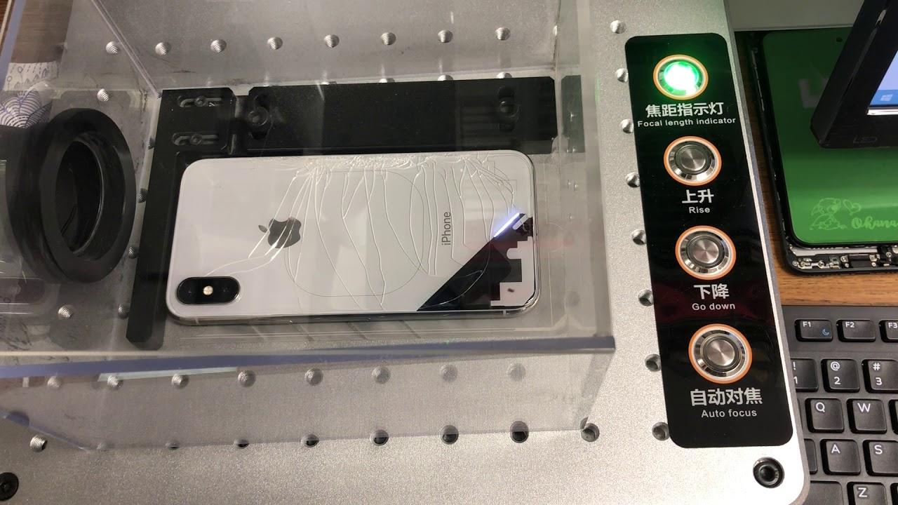 iPhone Back Glass Laser Repair in League City