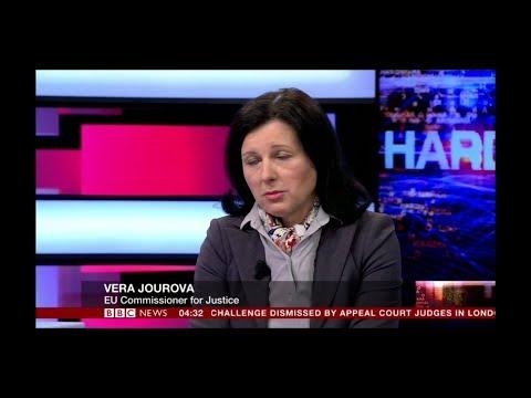 HARDtalk| Vera Jourova,EU Justice Commissioner