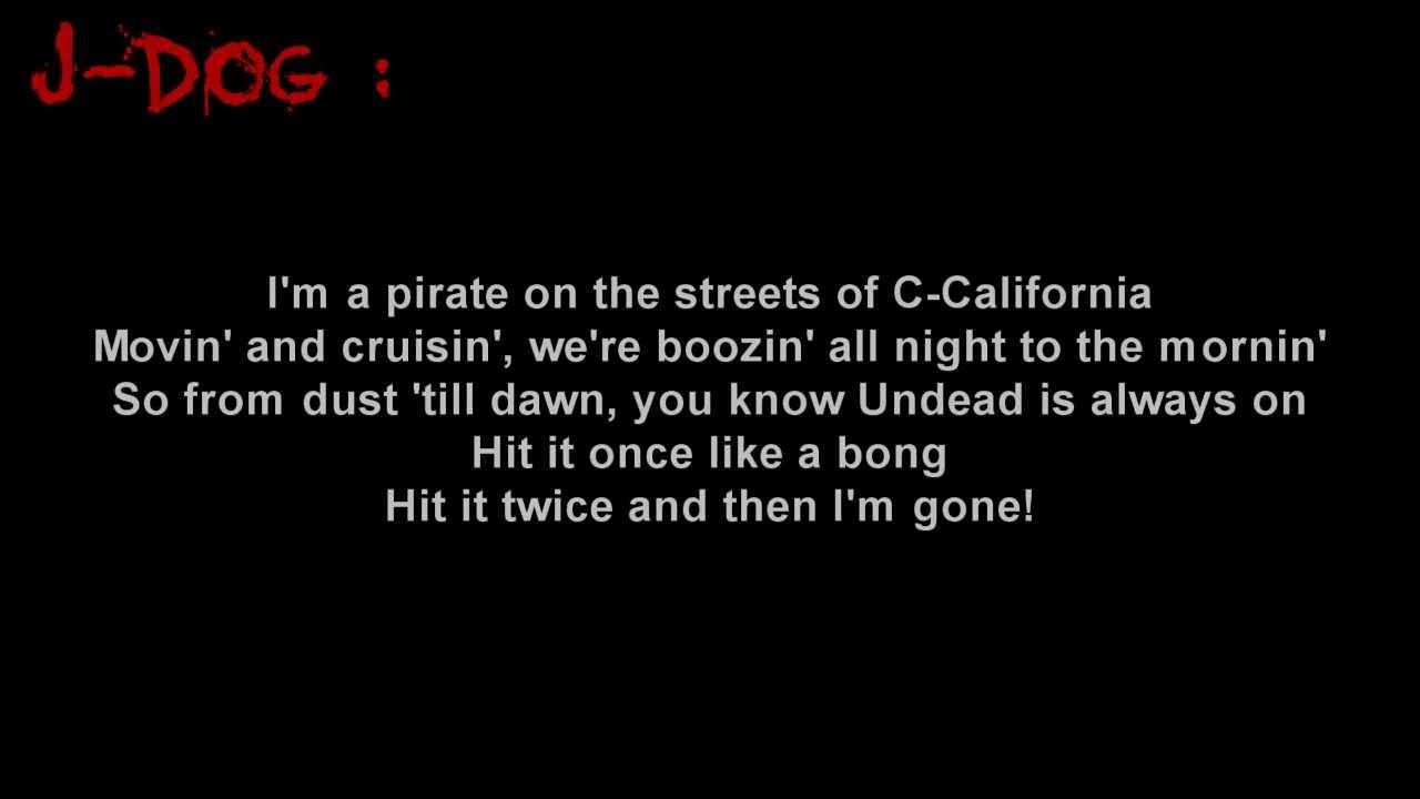 Hollywood Undead - California [Lyrics]