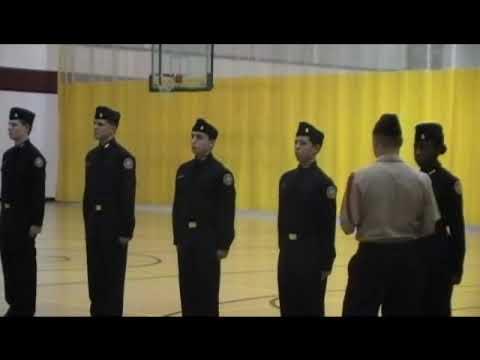 Rickover Naval Academy New Cadet Drill Personnel Inspection 07 Nov 2009