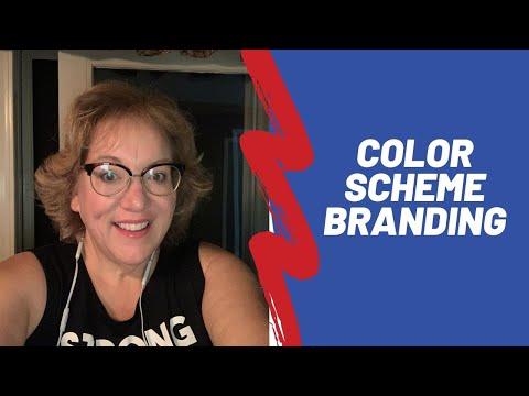 Color Scheme Branding using Marketing Precision