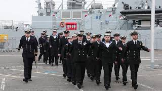 HMS Forth commissioning ceremony