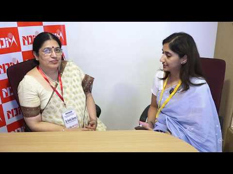 International Symposium May'18 at NDIM: Dr. Kavita Sharma, Head Commer Dept , Delhi University