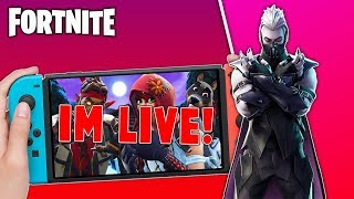 🔴 Best Fortnite Nintendo Switch Player // 800 Wins // Solo Matches // Fortnite Gameplay + Tips!!