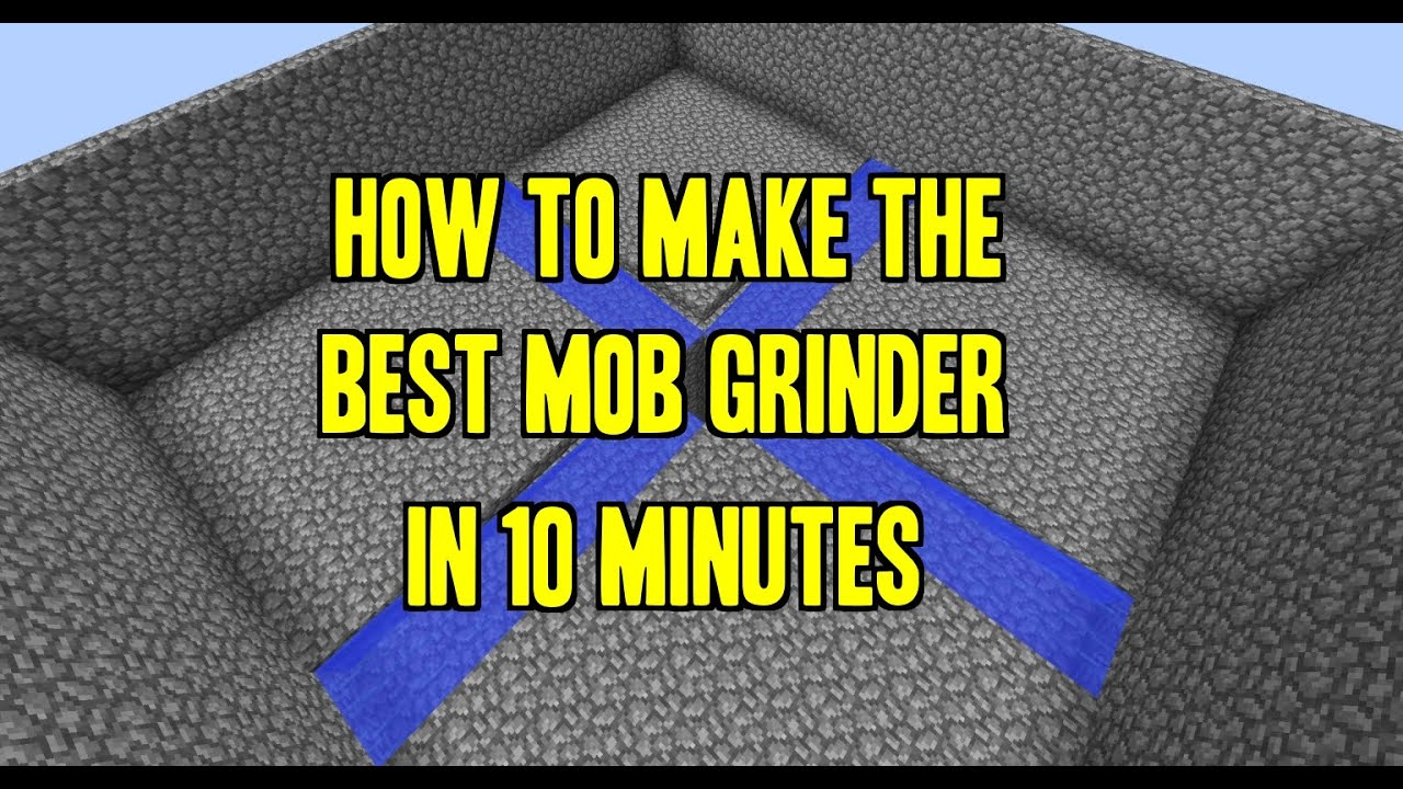 minecraft simple mob farm 1.12
