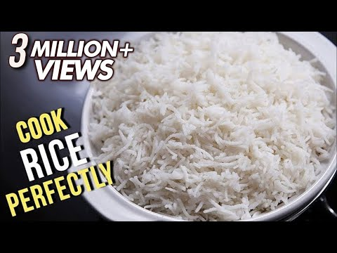 How To Cook Rice Perfectly   Easy Recipe By Ruchi Bharani   Basic Cooking