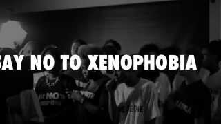 Young Artists Unite against Xenophobia  - #NoToXenophobia- We are the World