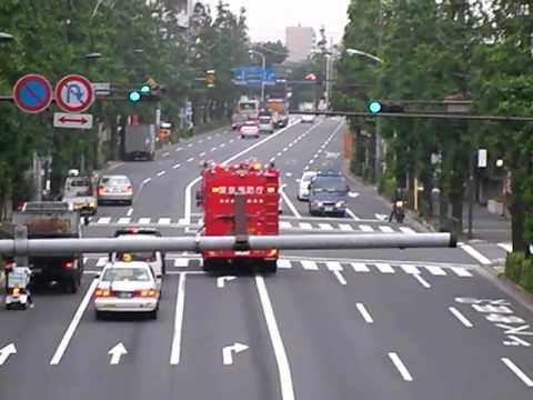 """ハイパーレスキュー緊急走行 """"Hyper Rescue""""@Tokyo(1/2) 東京消防庁"""