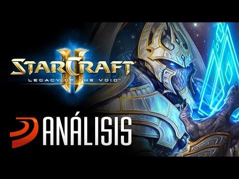 Starcraft 2: Legacy of the Void es el broche de ORO de la trilogía. Análisis