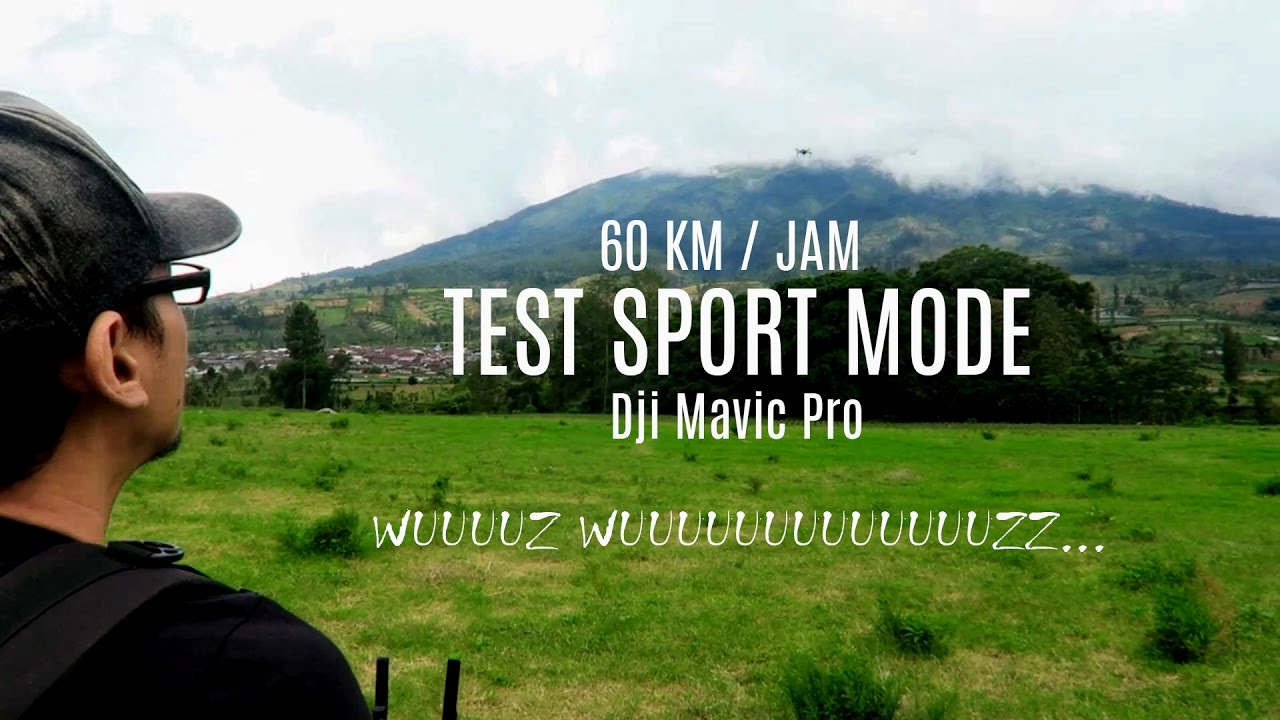 mavic pro how to change to sport mode