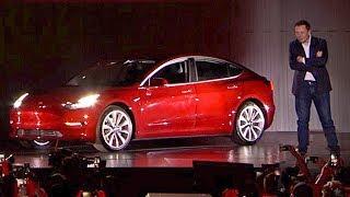 Tesla Model 3 (2017) Elon Musk's keynote