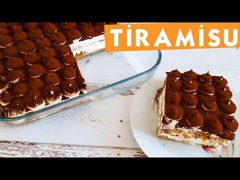 Pratik Nefis Tiramisu - Pasta Tarifleri - Nefis Yemek Tarifleri