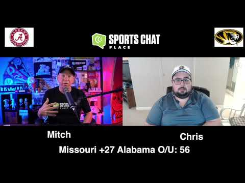 Alabama at Missouri - Saturday 9/26/20 - College Football Picks & Prediction | Sports Chat Place