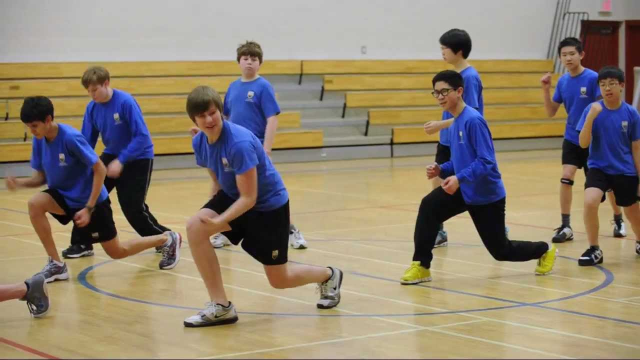 Middle School Cross-Grade PE