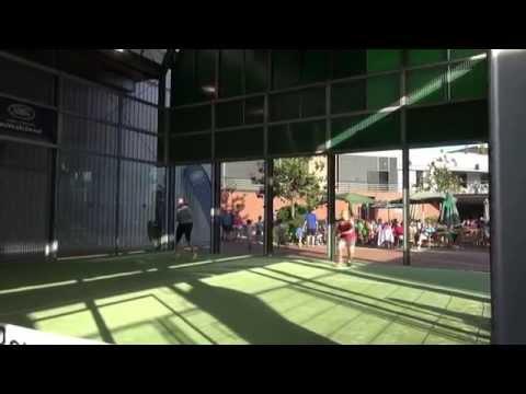 Clinic Carolina Navarro y Cecilia Reiter - Land Rover Padel Tour - RGCC Julio 2015