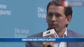 Sebastian Kurz gegen Sozialleistungen für Ausländer