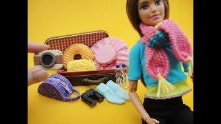 10 Barbie Hacks and Crafts - Luggage Bag, Hat