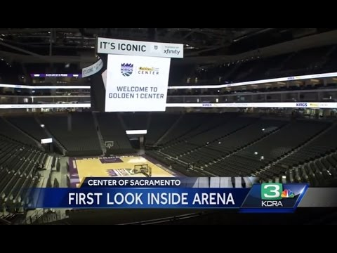 Arena of the future? A peek at Golden 1's high-tech features