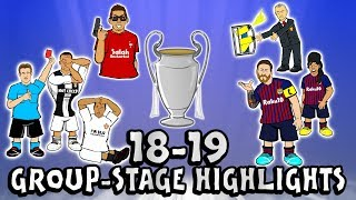 UCL GROUP STAGE HIGHLIGHTS 2018/2019 UEFA Champions League Best Games and Top Goals