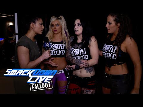Ruby Riott issues a major challenge: SmackDown LIVE Fallout, Jan. 9, 2018