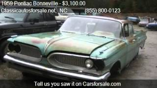 1959 Pontiac Bonneville  for sale in Nationwide, NC 27603 at #VNclassics