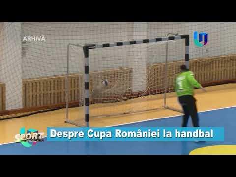 Despre Cupa României la handbal
