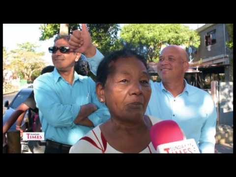 Metro Express: Des habitants manifestent
