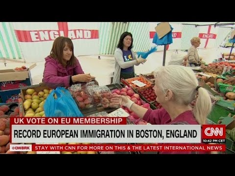 Record immigration in Boston, England sways Brexit votes