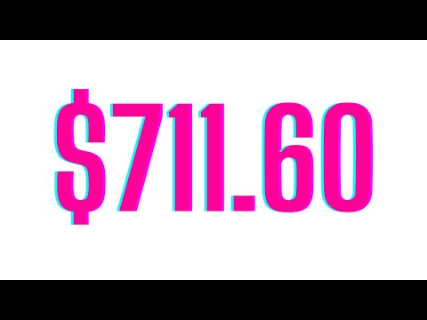 GrooveFunnels Affiliate Payout for $711.60