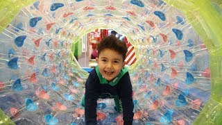 Yusuf Sihirli Tünelden Oyun Alanına Gitti | Kids Play Fun Activities at Indoor Playground