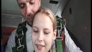 Прыжок с парашютом 4000 метров Никулина Екатерина