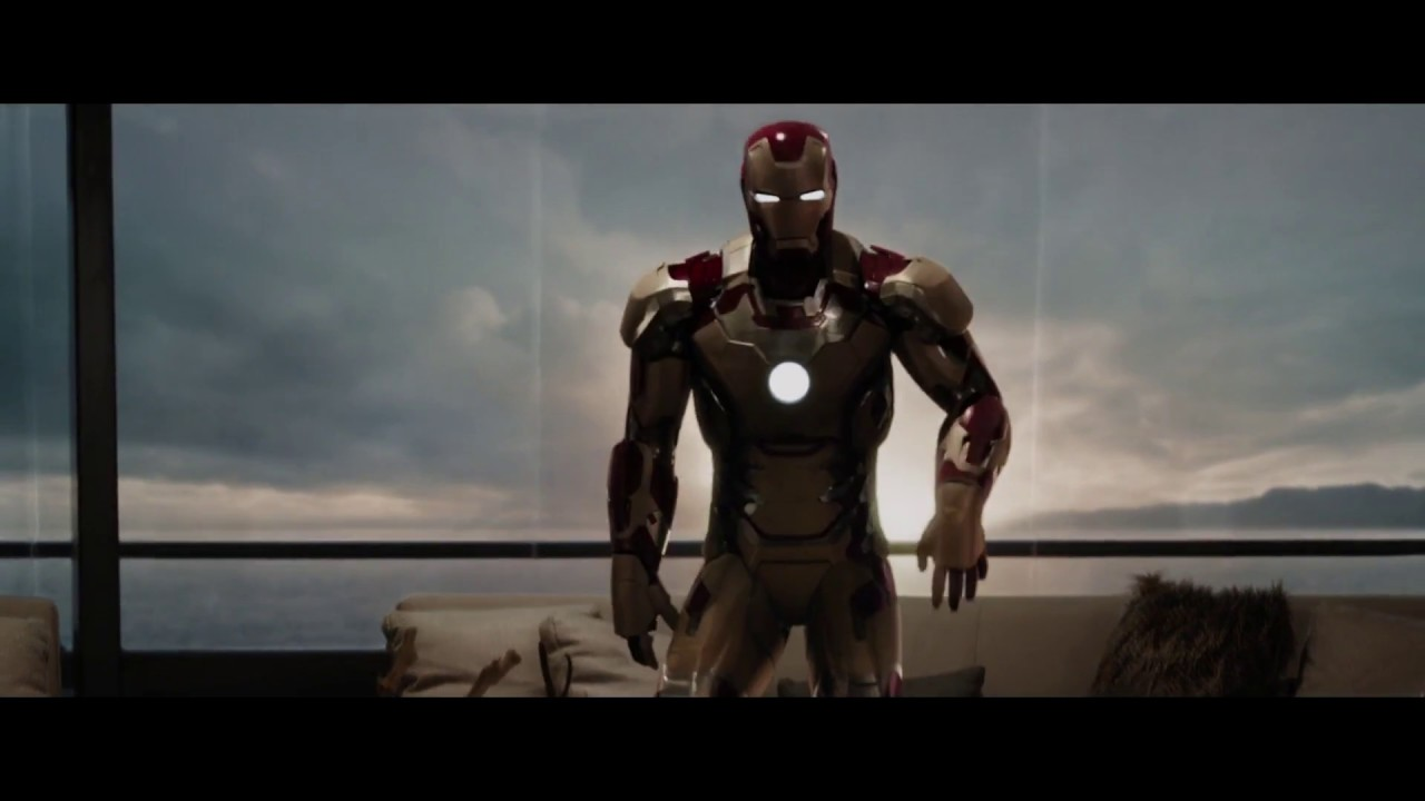 iron man 3 all suit ups & transformation blue ray hd - youtube