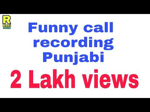 funny call recording punjabi