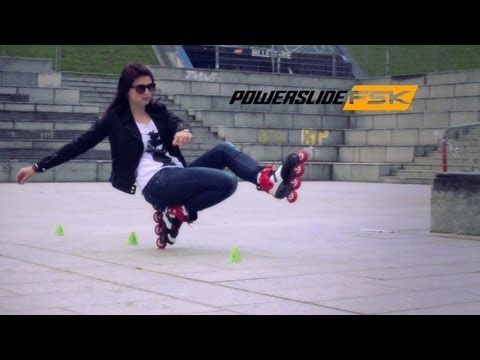 Powerslide Skates FSK PSWC 2013 - Freestyle Slalom Inline Skating in Paris