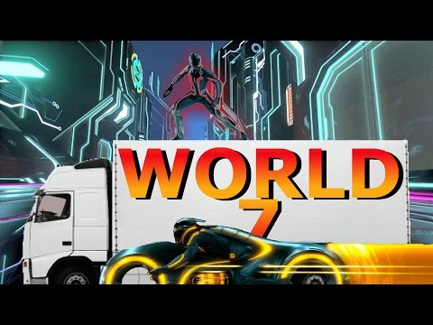 World 7 Tron Mode Engage | Cluster Truck