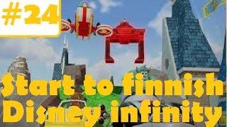 Disney Infinity (wii) Toybox; Part 24, Sky Ride (racetrack Build | Start To Finnish)