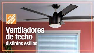Variedad De Ventiladores De Techo Ventilación The Home Depot Mx Youtube