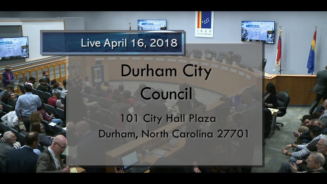 Durham City Council Apr 16 2018 Youtube