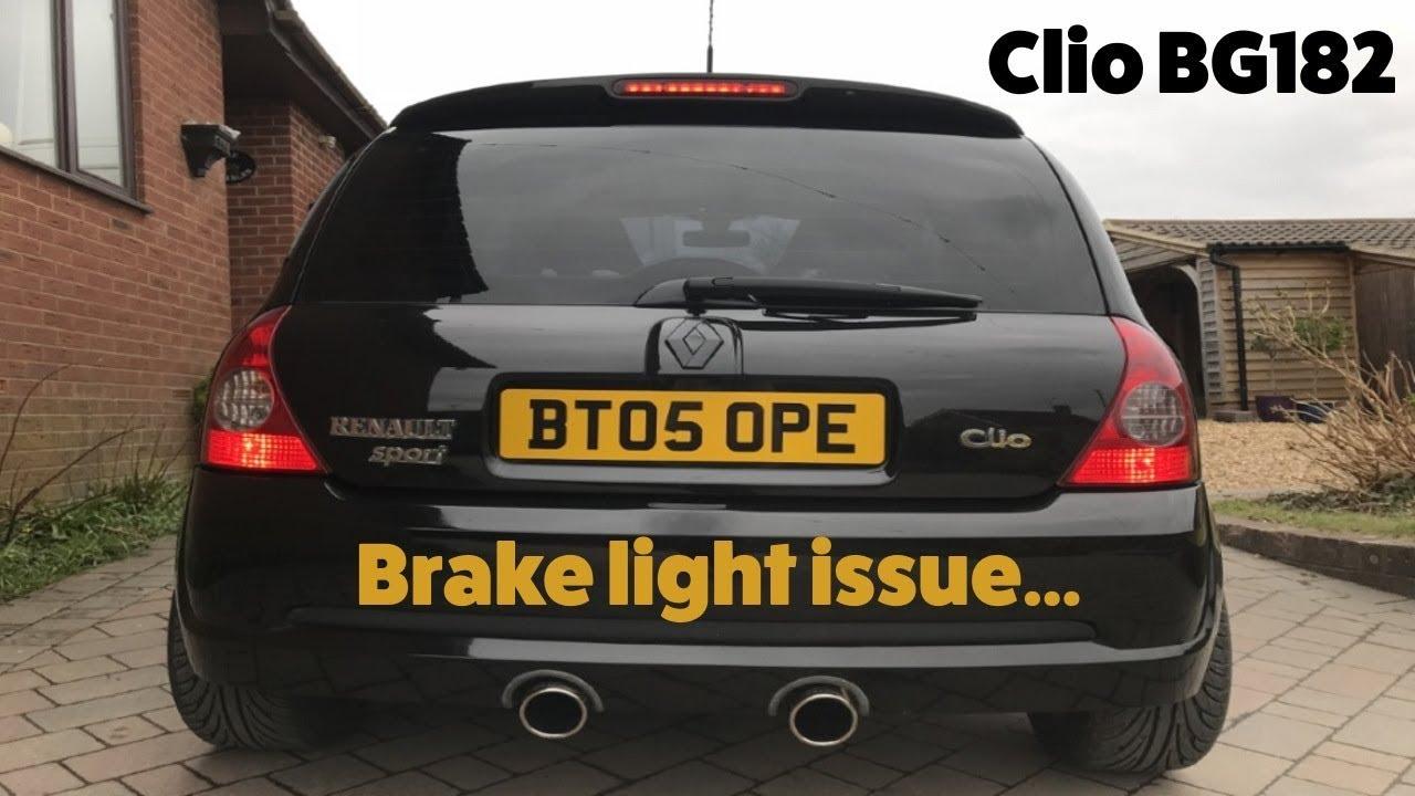 renault clio sport 182 front bumper fog lights