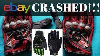 DO CHEAP EBAY GLOVES WORK IN A MOTORCYLE CRASH?