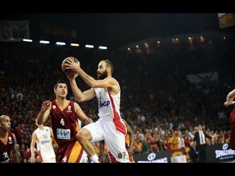 Galatasaray Vs Olympiacos 67-78 Euroleague 2014