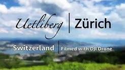 🇨🇭Uetliberg, Zurich, Switzerland | Top of Zurich | 4K Drone Video