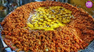 Biggest Scrambled Eggs -400 Eggs Bhurji | Indian Street Food