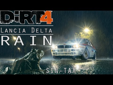 Dirt 4 Rallycross In The Rain with the Lancia Delta